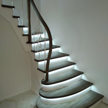 mediniai laiptai 1