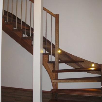 mediniai laiptai 2