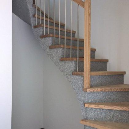 laiptai ant betono 4